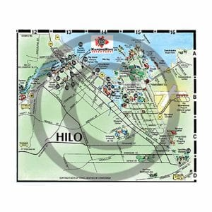 Hilo detail map from Big Island map