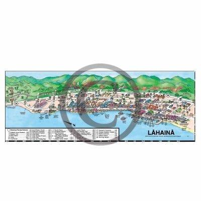 TGI Maui map Lahaina