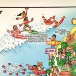 TGI's illustrated poster of Oahu is educational as well as beautiful.