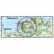 Princeville detail map from Kauai map