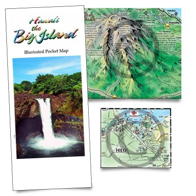 TGI Big Island map all island plus Hilo