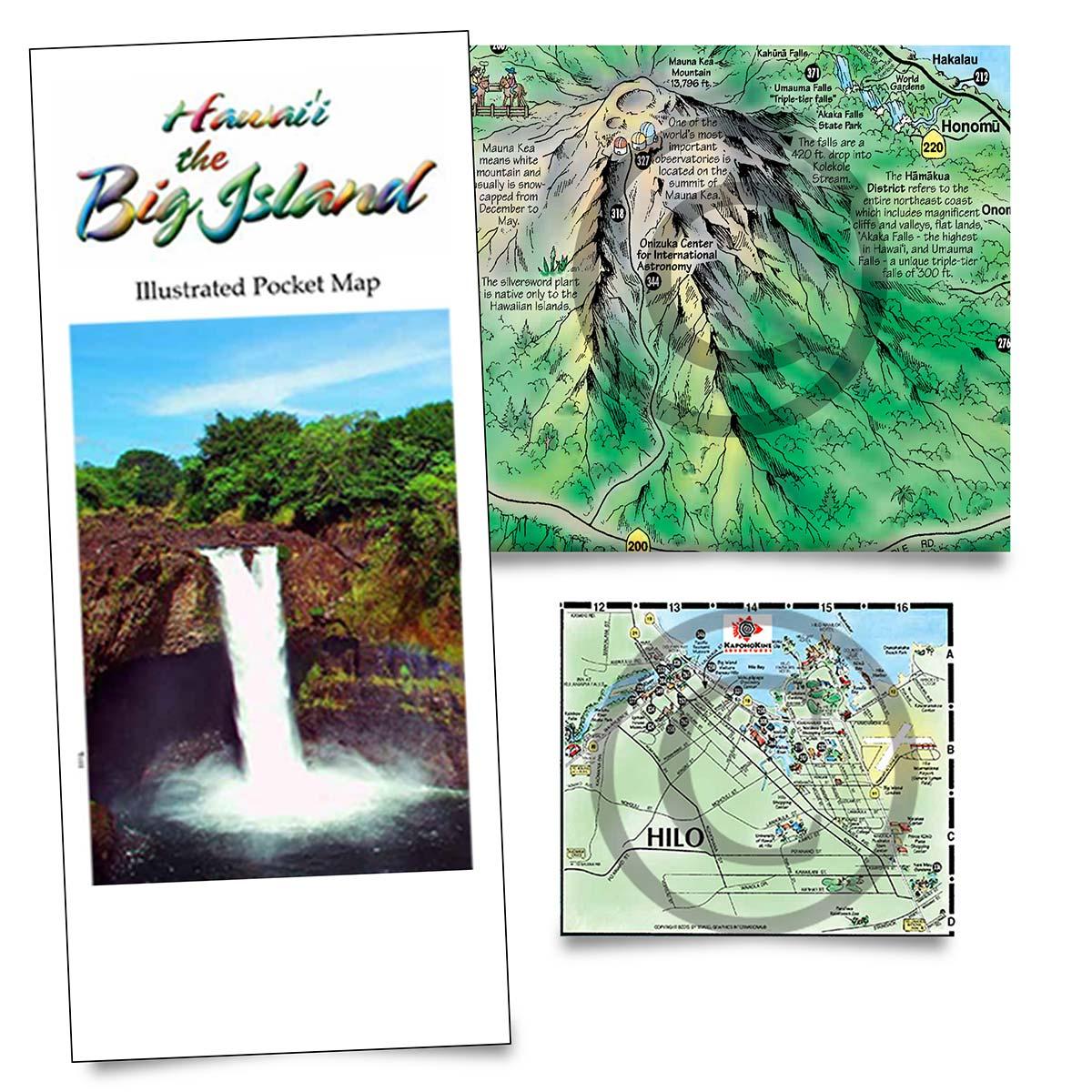 Buy Big Island maps online | Big Island tourist maps