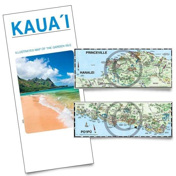 TGI Kauai map