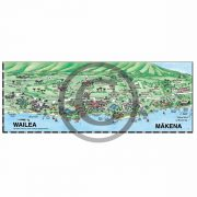 Wailea detail map from Maui map