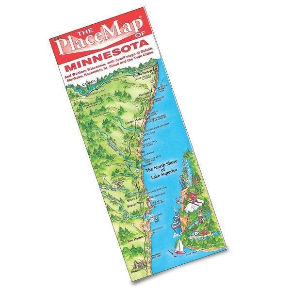 TGI's illustrated Minnesota map